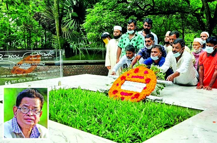 Humayun Ahmed's 9th death anniversary observed