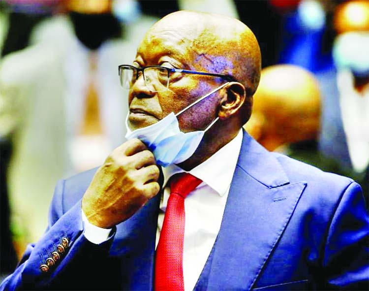 Zuma graft trial resumes after deadly South Africa violence