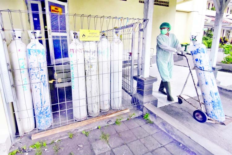 Bali hit by 'oxygen crisis' as Indonesia's Covid struggles rise