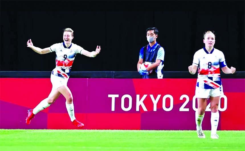 Ellen heads GB Women into Tokyo Olympics knockouts