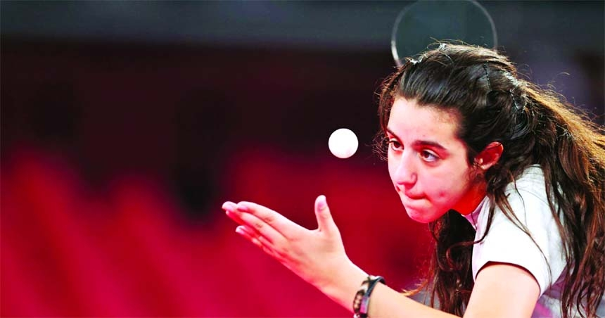 Youngest competitor Zaza hopes to send message of