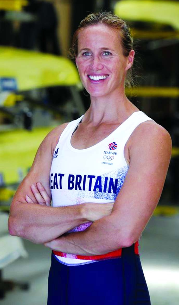 Britain's rowing mum Glover launches bid for third Olympic gold
