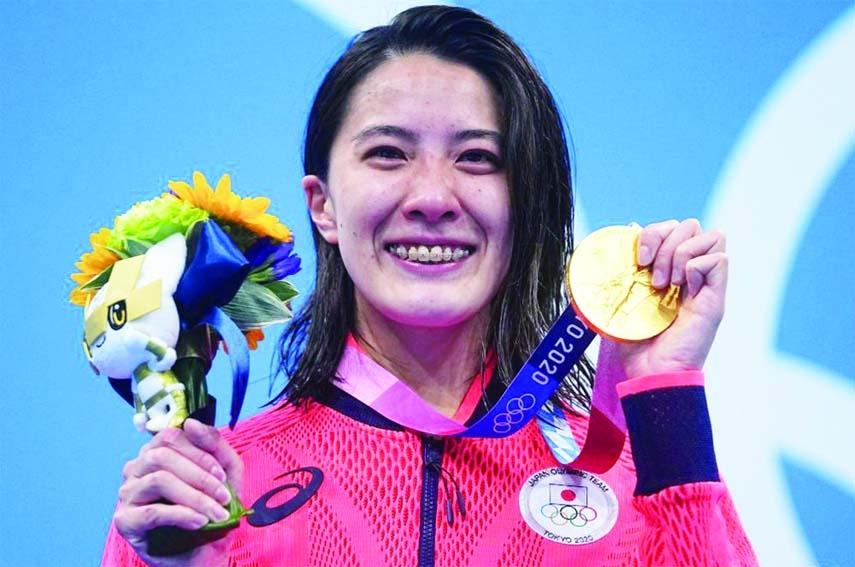 Yui Ohashi wins women's Olympic 400m individual medley