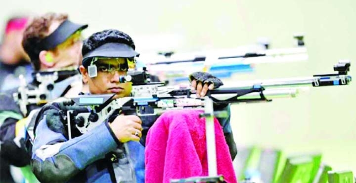 Baki eliminated from 10-meter Air Rifles