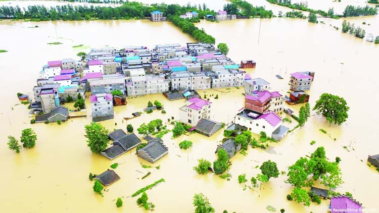 Flood deaths in China show road risks from climate change