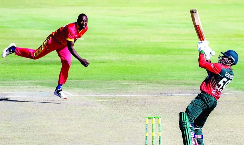 Bangladesh clinch T20I series also against Zimbabwe