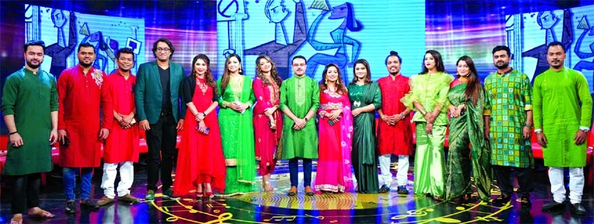 14 singers together in Anjam Masud's Eid show tonight