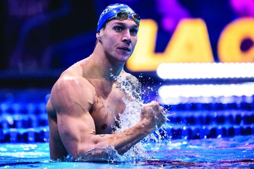Dressel-led USA win men's 4x100m relay gold