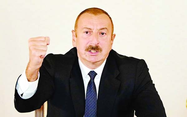 Azerbaijan president under pressure