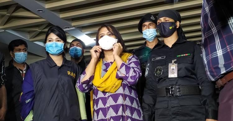 RAB detains Helena Jahangir after raid