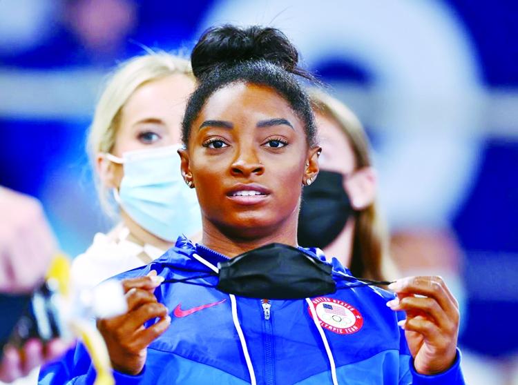Olympics-Politics and drama Biles, Tsimanouskaya, Hubbard in focus