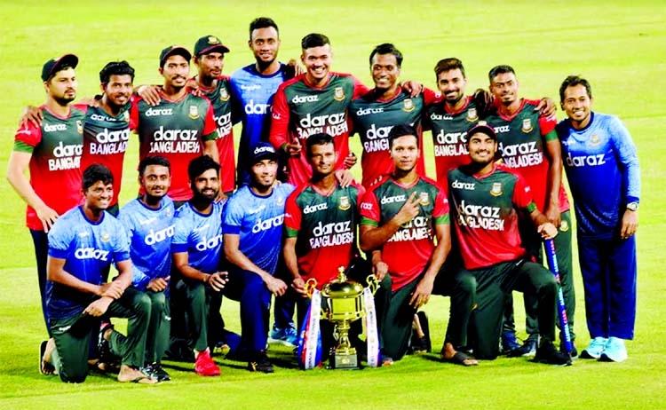 Kiwis win last T20I Tigers take series