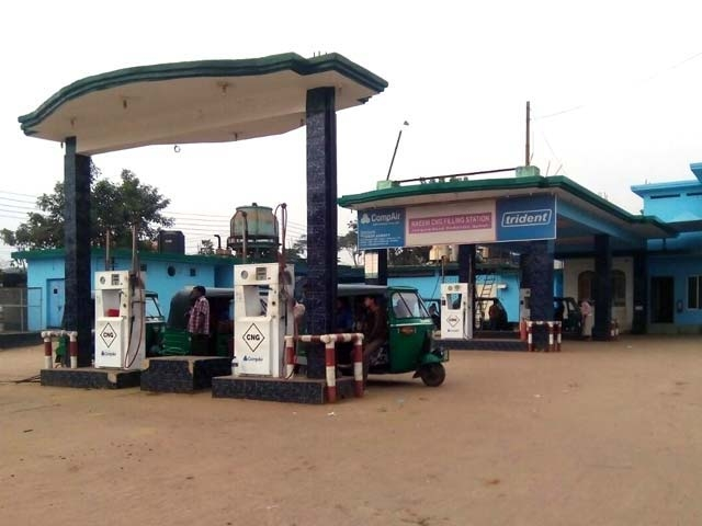 No CNG re-fuelling  from 5 pm to 11 pm from Wednesday