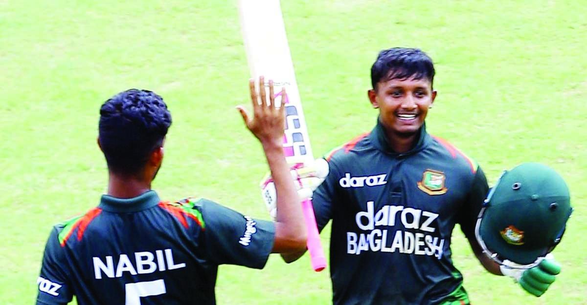 Bangladesh U-19 team clinch one-day series