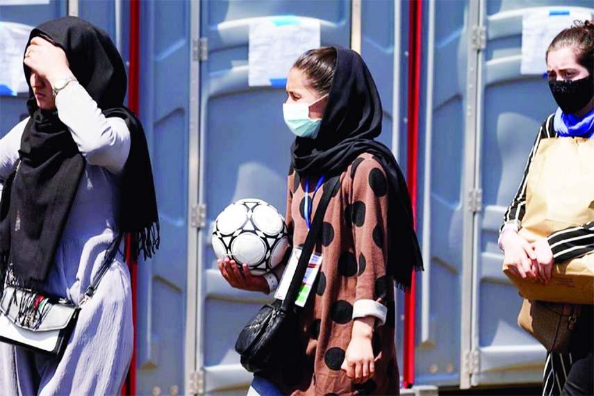 Afghan female soccer team in Pakistan to seek asylum
