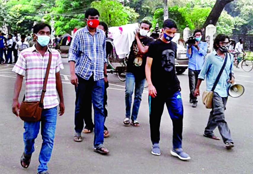 Tree felling at DU triggers protests
