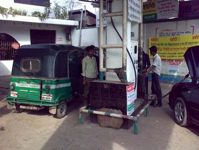 CNG filling stations to be closed for 4hrs daily from today
