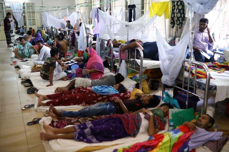 Dengue: 275 new patients hospitalized , no fresh death reported