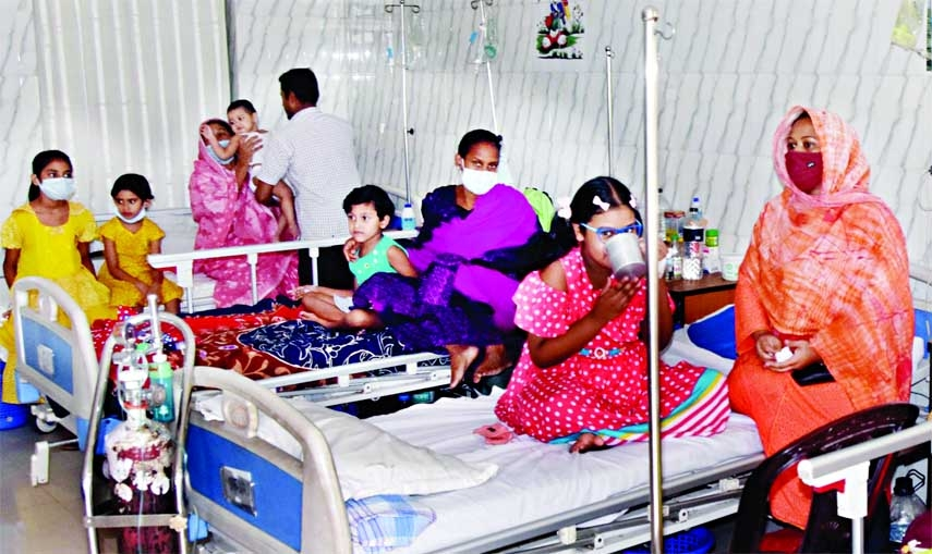 275 new dengue patients admitted