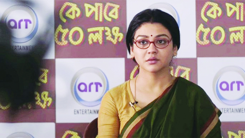 Jaya Ahsan lent her voice for Tagore song in her movie