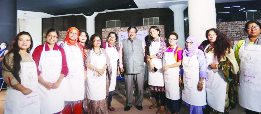 Art camp on Sheikh Hasina at Shilpakala Academy ends
