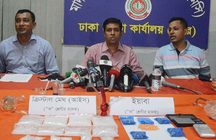 Narcotics department is to crack down 3,500 listed drug dealers in Dhaka