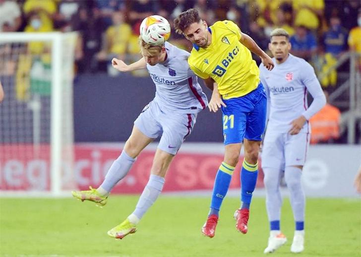 Barca held by Cadiz as pressure mounts on Koeman