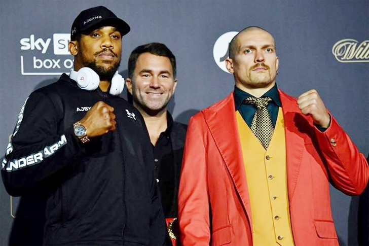 'Power is in your spirit,' says Usyk ahead of Joshua showdown