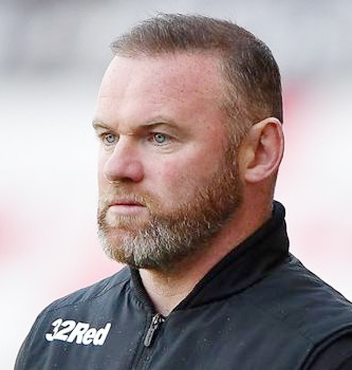 Rooney vows to stay at Derby despite entering administration