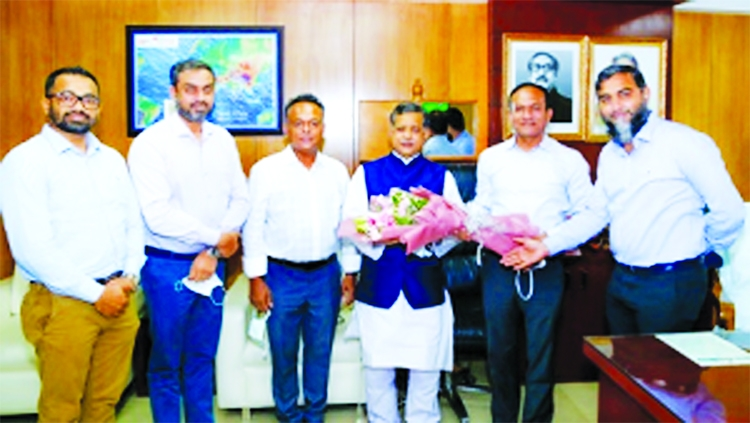A BGMEA delegation led by acting President SM Mannan (Kochi) made a curtsy call on State Minister for Civil Aviation and Tourism Md Mahbub Ali at the Secretariat in Dhaka on Thursday.