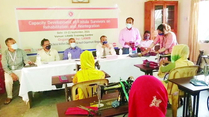 Income generation training for fistula survivors stressed