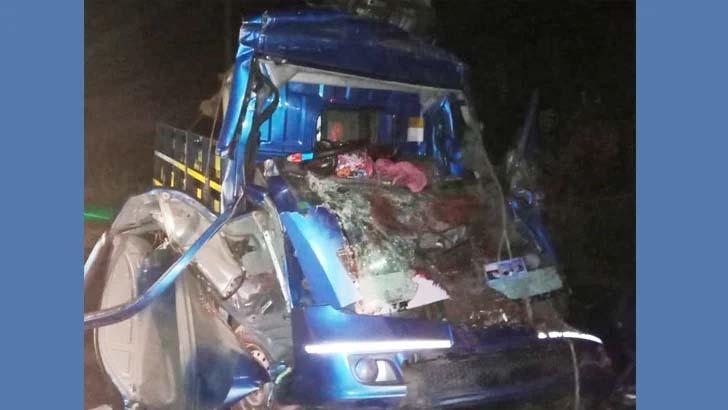 Three killed in Netrakona road crash