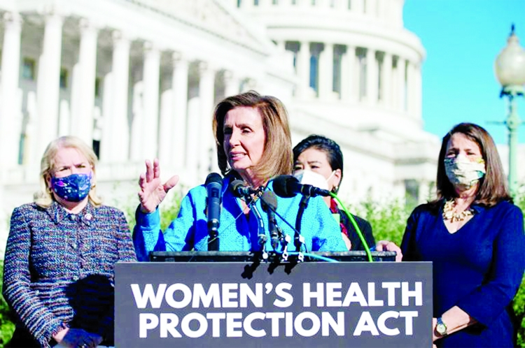 US House passes bill protecting abortion rights