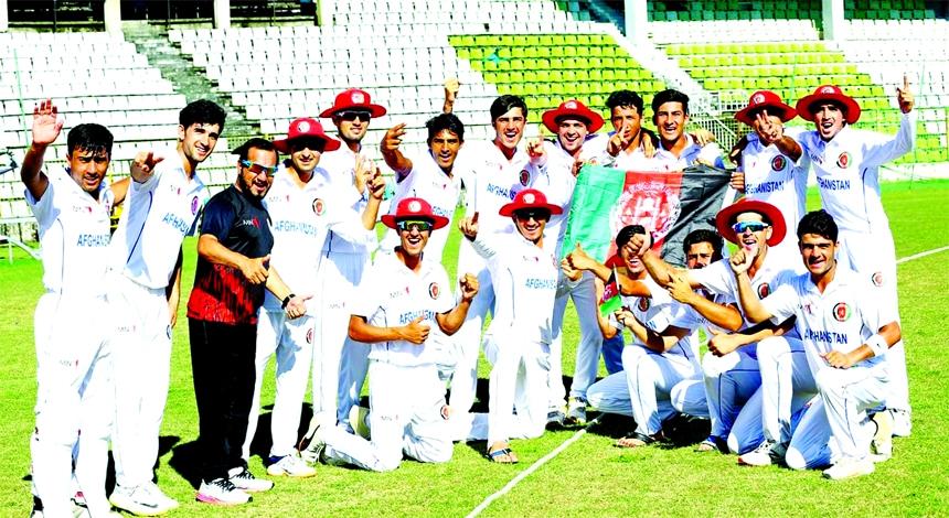 Afghanistan U-19 stun Bangladesh U-19 in Youth Test