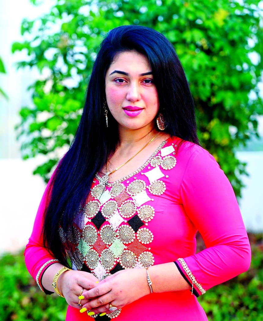 Apu Biswas busy with her birthday
