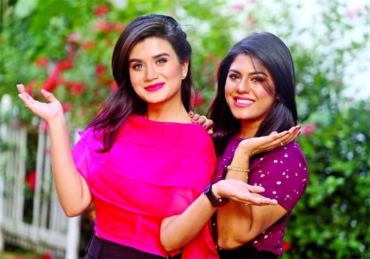 Labonno, Shanta Jahan to share stage as anchors