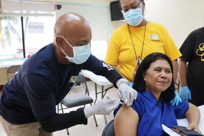 Palau nears 100 percent Covid vaccination