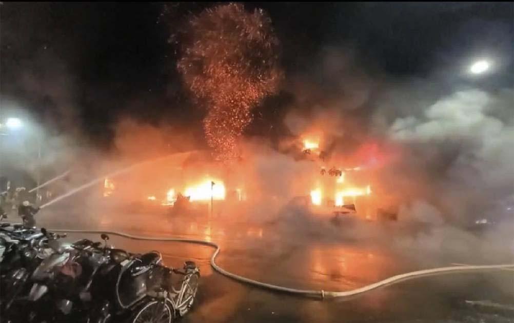 Fire leaves 25 dead, dozens injured in southern Taiwan
