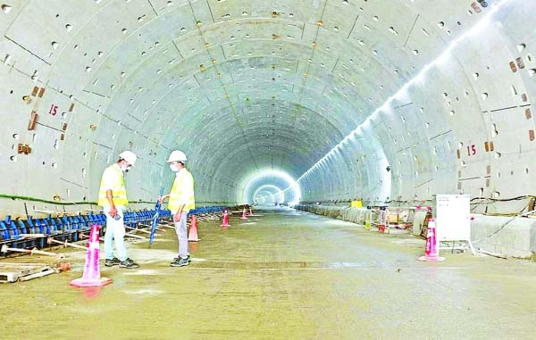 Light at the end of Karnaphuli tunnel