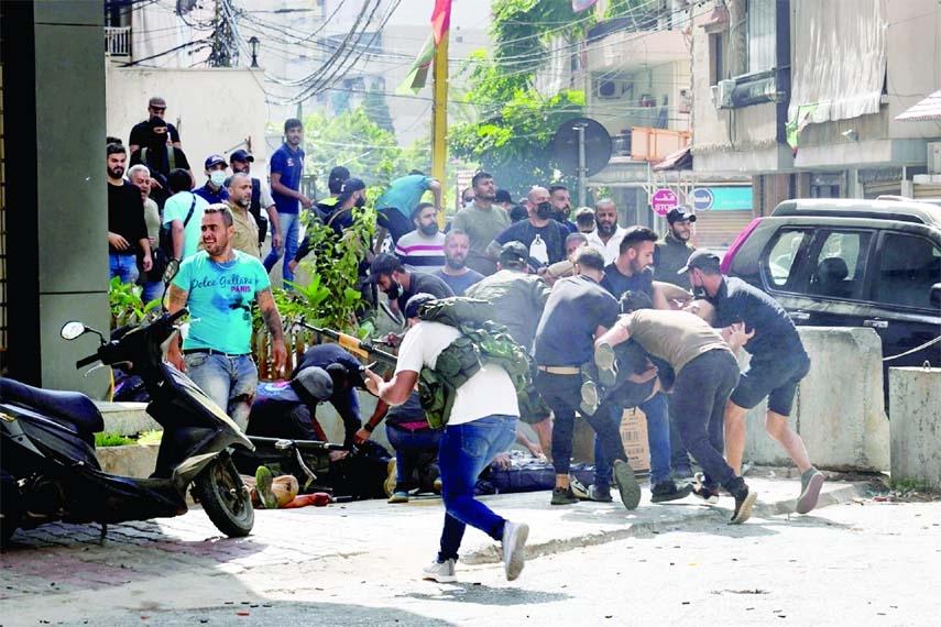 6 killed in Beirut clash over blast probe