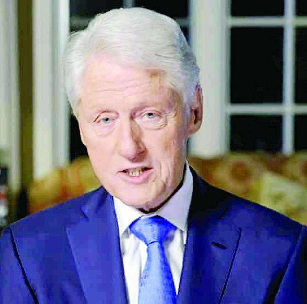 Ex-President Bill Clinton  hospitalised