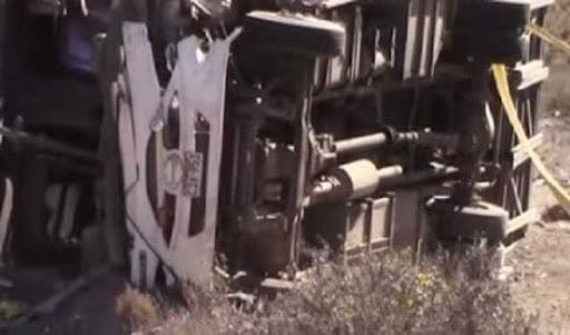 8 killed, over 20 injured in traffic accident in Peru