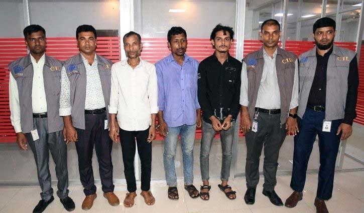 3 hijackers arrested over murder of garment worker