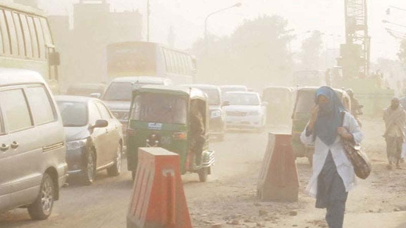 Dhaka is world's second-most polluted city