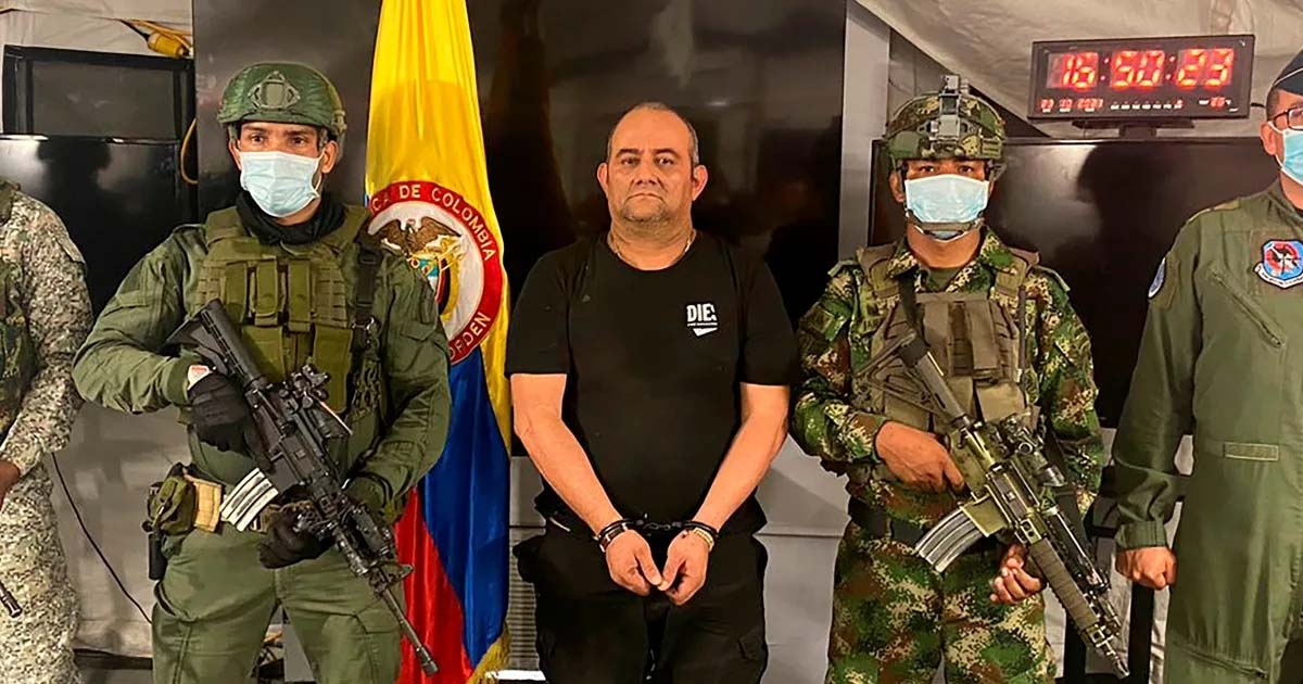 Colombia's most-wanted drug trafficker captured