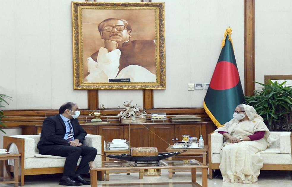 South Asian nations should work together: Hasina