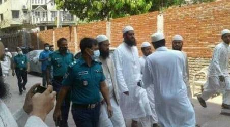 Hefazat leader Mamunul Haq held in Dhaka