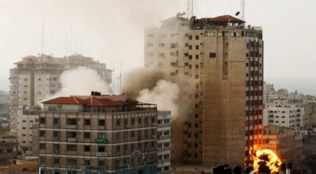 Israel strike in Gaza destroys building with AP, other media