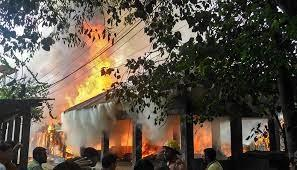 70 houses, school gutted in Bandarban fire