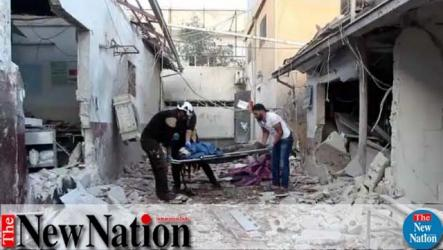13 killed in hospital attack in opposition-held Syria town